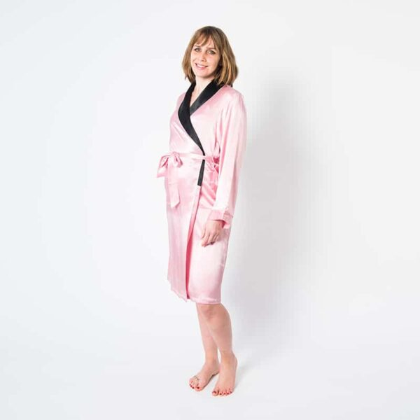 Forsters Finery Mulberry Silk Ladies Robe