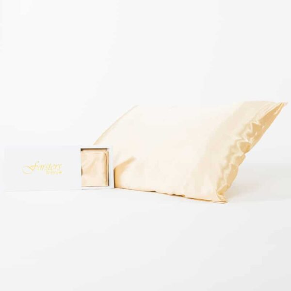 Forsters Finery - Pure Silk Pillowcases - Gold