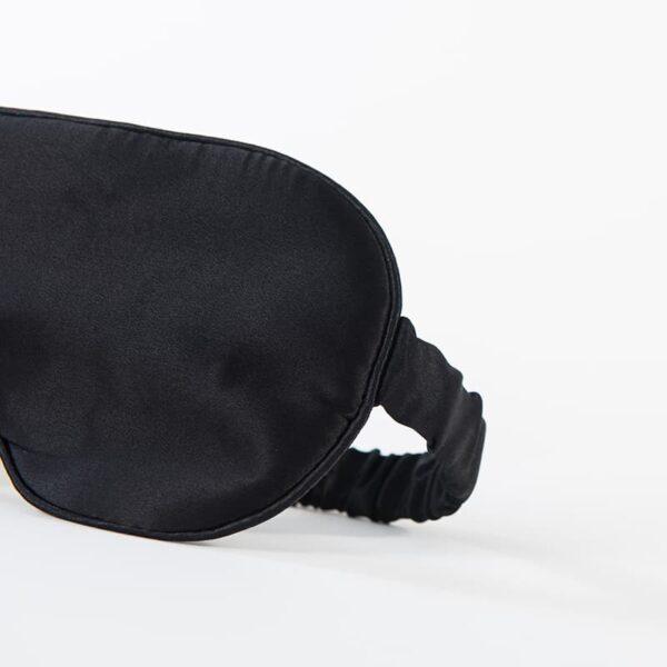 Pure Silk Sleeping Eyemasks - Black