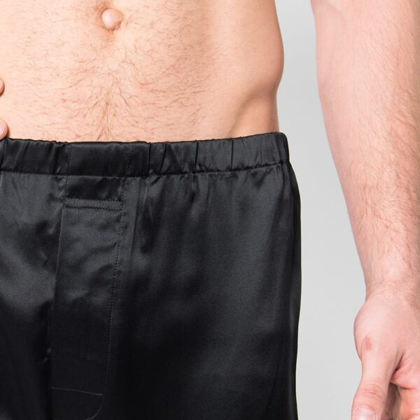Mulberry Silk Boxer shorts - black