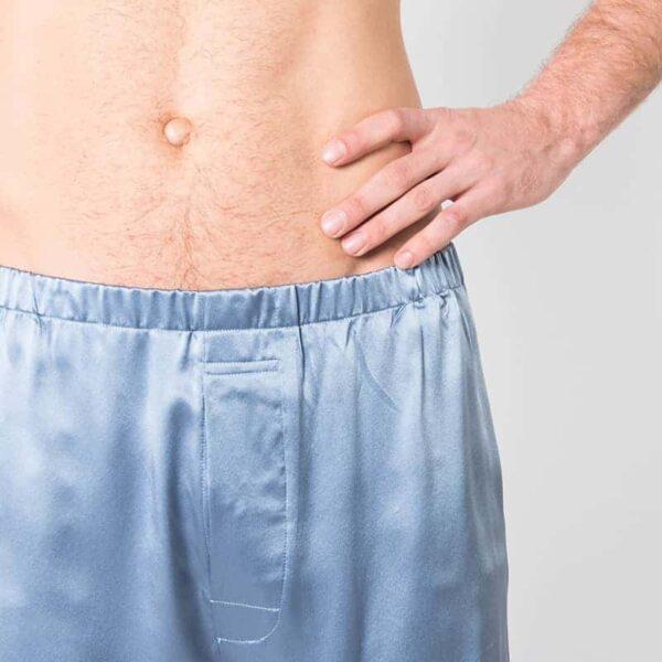 Mulberry Silk Boxer shorts - Twilight